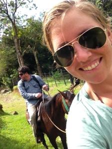 horseback riding!