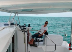 Skippering a Lagoon 42'