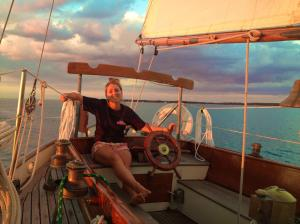 Captaining a classic ketch out of Tilghman Island, Maryland